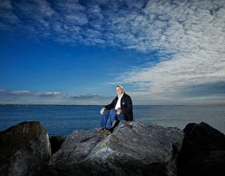 Knud Aage Lavsen har arbejdet en menneskealder som havneingeniør på havnen i Thyborøn. Nu stopper han.
