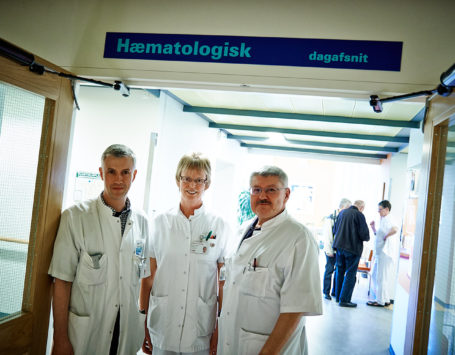 Hæmatologisk afd. Holstebro Centralsygehus.