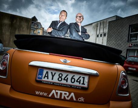 ATRA Arkitekter fylder ti år. Arkitekterne Sigurd Jakobsen og Mark le Fevre